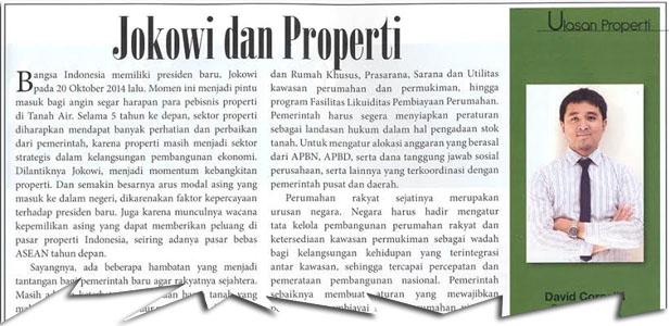 Jokowi dan Properti