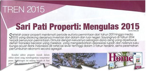 Sari Pati Properti: Mengulas 2015