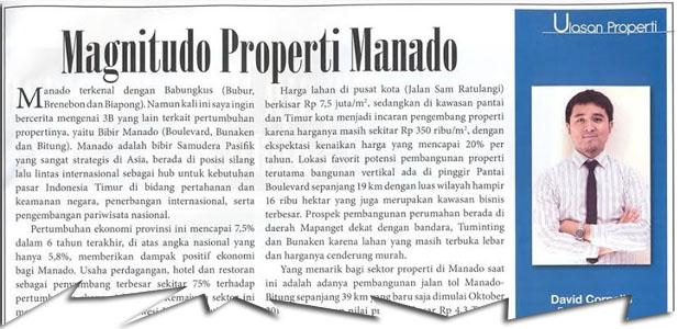 Magnitudo Properti Manado