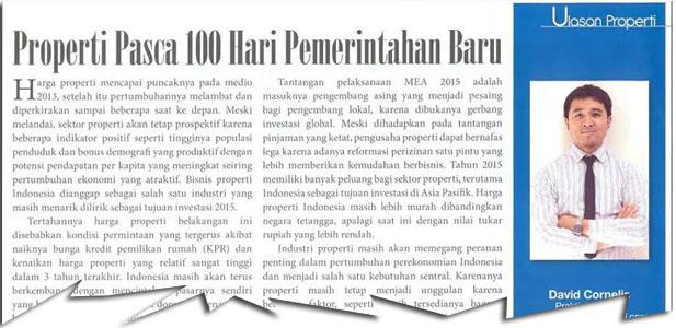 Properti Pasca 100 Hari Pemerintahan Baru