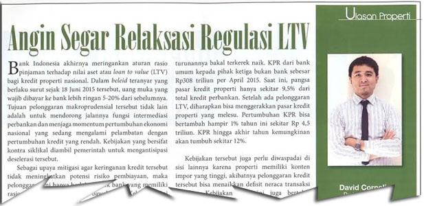 Angin Segar Relaksasi Regulasi LTV