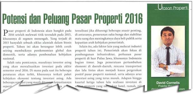 Potensi & Peluang Pasar Properti 2016