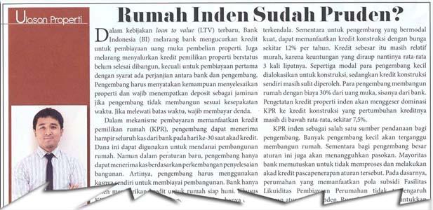 Rumah Inden Sudah Pruden?
