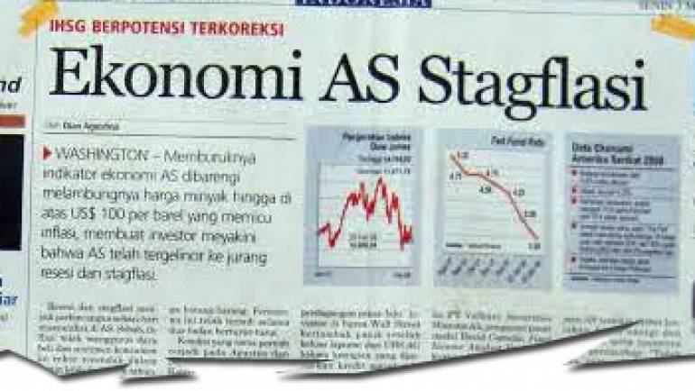 03 Maret 2008 – Ekonomi AS Stagflasi